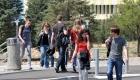 Studenti na kampusu